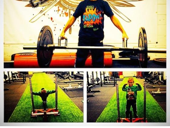 Strongman for kids
