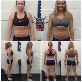 Cyntia Lambert 12 semaines 20.4% à 12% +9lbs de masse maigre